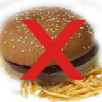 Diet - Weight Loss Dieting: Cheeseburger