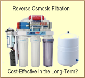 Water Purification: RO - Cost-Effective In The Long Term?