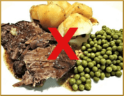 Diet - Food Compatibility: Roast Beef with Potatoes