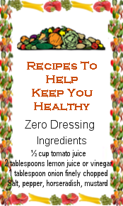 Recipes to Keep you healthy