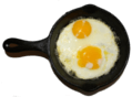 Foods To Avoid: Fried Eggs in Skillet