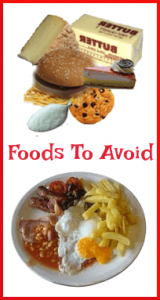 Recipes - Foods to Avoid