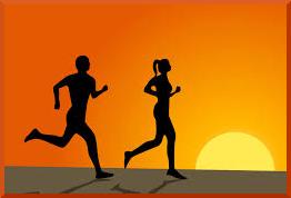 Exercises for Beginners: Running Couple