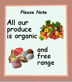 Organic Food: Organic Food Billboard