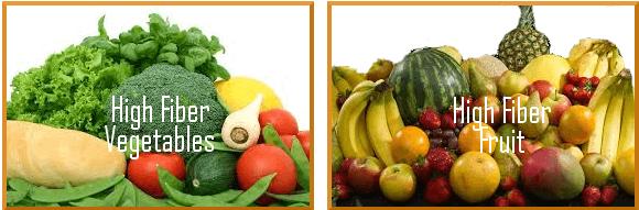 Superfoods: Fiber - High Fiber Veg Fruit